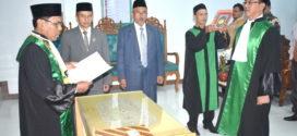 Pelantikan Wakil Ketua Mahkamah Syar'iyah Bireuen