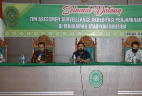 Asesmen Surveillance Kedua Akreditasi Penjaminan Mutu MS Bireuen